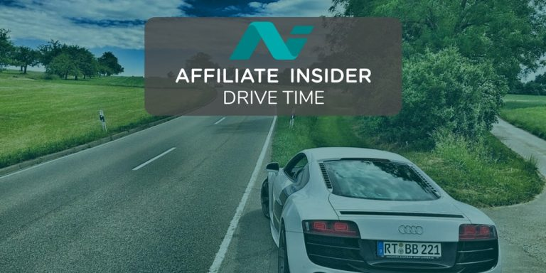 Car on highway with AffiliateDriveTime logo