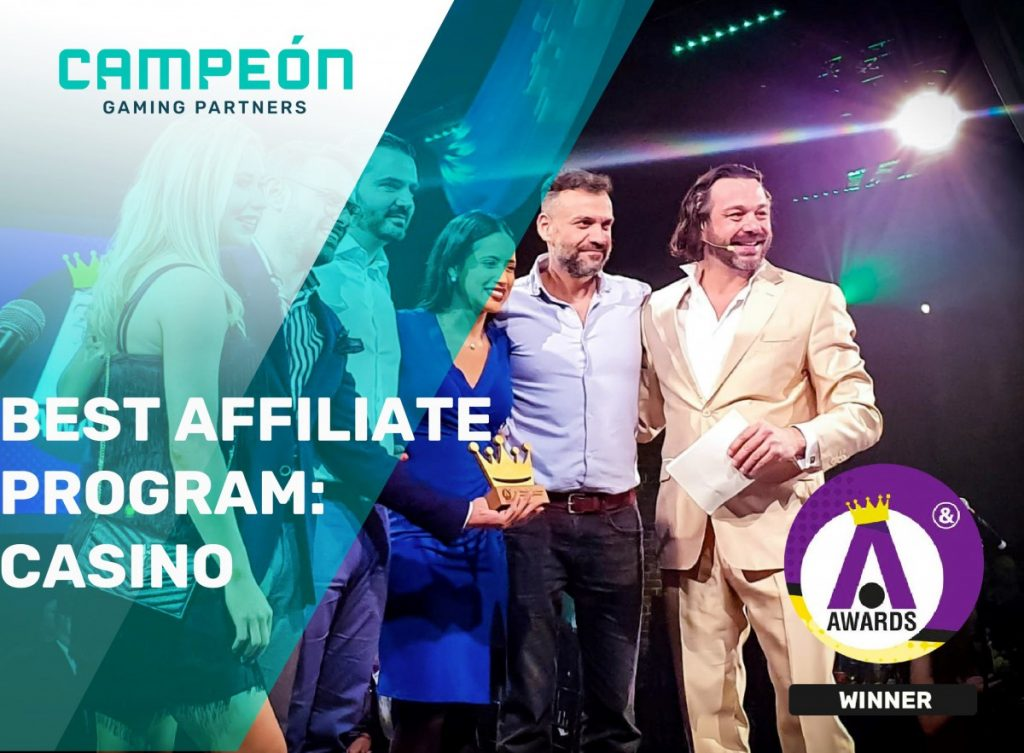 Campeón Gaming Partners iGB Affiliate London