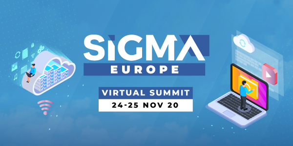 SiGMAEurope Virtual banner